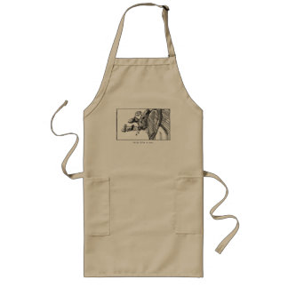 Apron. Think Like A Cow. Long Apron