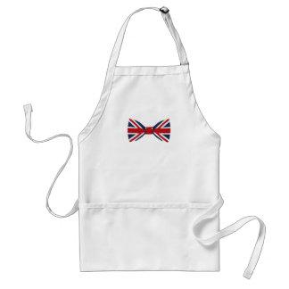 Apron - Union Jack Bow Tie