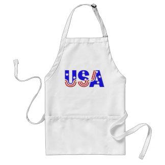 Apron - USA in Stars & Stripes