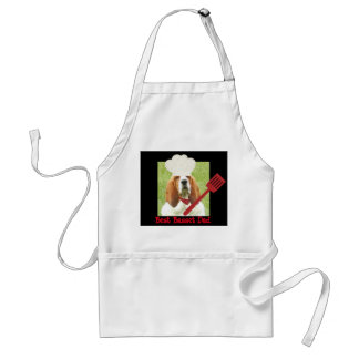 "Apron with ""Best Basset Dad "" logo"