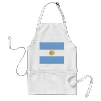 Apron with Flag of Argentina