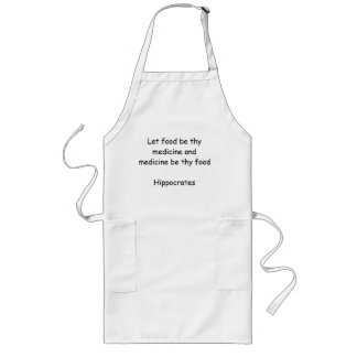 Apron with Greek Quote