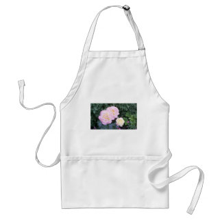 Apron with roses
