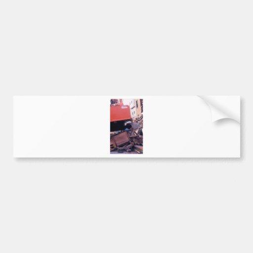 apt destr. red machine bumper stickers