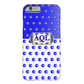 AQL WHITE BLUE BARELY THERE iPhone 6 CASE