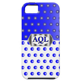 AQL WHITE BLUE iPhone 5 COVER