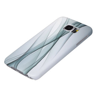 Aqua Abstract Samsung Galaxy S6 Cases