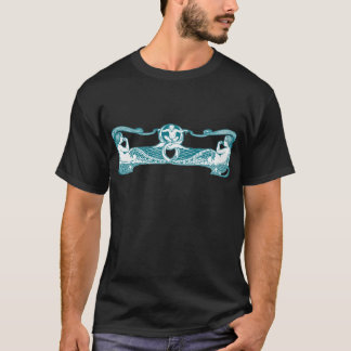 Aqua Art Nouveau Mermaids T-Shirt