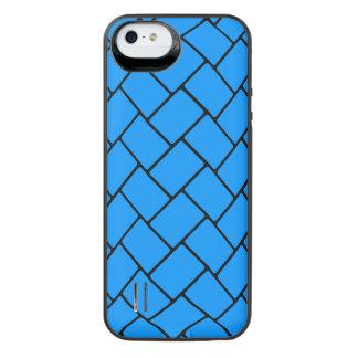 Aqua Basket Weave 2 iPhone SE/5/5s Battery Case