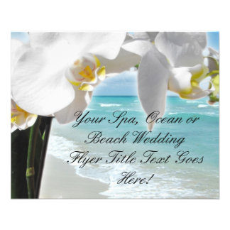 Aqua Beach Orchid Flyer