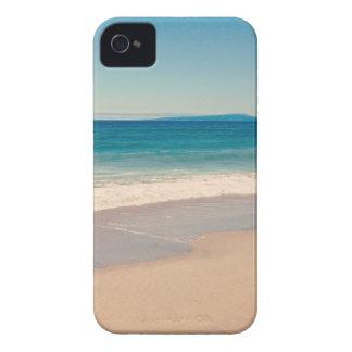 Aqua Beach Scene iPhone 4 Case-Mate Case