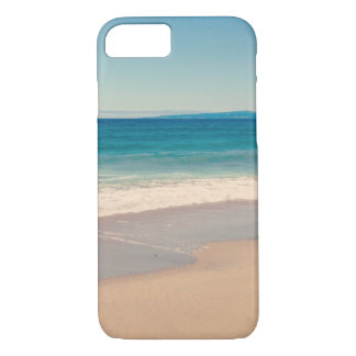 Aqua Beach Scene iPhone 8/7 Case