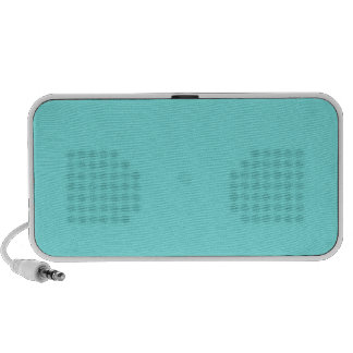 Aqua Belle Aqua Blue Uptown Girl Designer Wedding Notebook Speaker