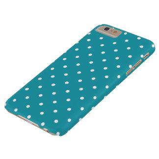 Aqua Blue 50s Polka Dot iPhone 6 Plus Case