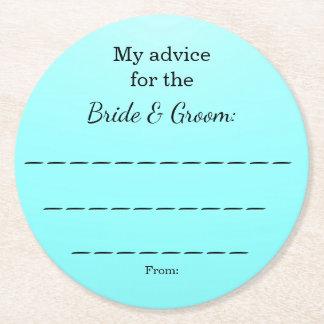 custom paper coasters wedding