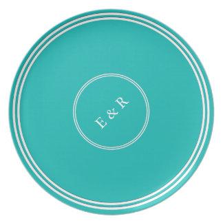 Aqua-Blue-Background Plates