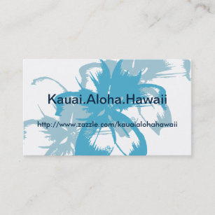 Tropical blue business cards business card printing zazzle aqua blue floral business card reheart Images