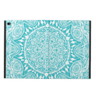 Aqua Blue Mandala Pattern Powis iPad Air 2 Case