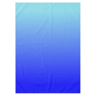 Aqua Blue Ombre Tablecloth