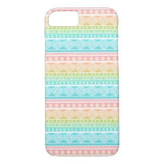 Aqua Blue Summer Aztec Case-Mate iPhone 8/7 Case