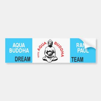 Aqua Buddha Bumper Sticker
