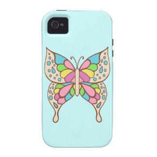 Aqua Butterfly  iPhone 4 Case Mate