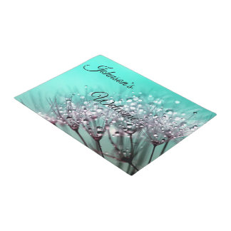 Aqua Cactus Bonsai Bloom Door Mat