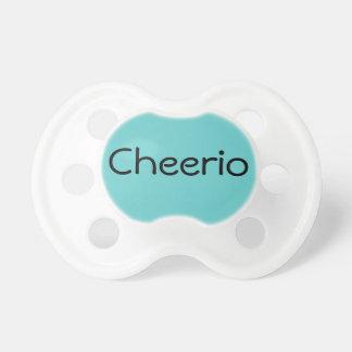 Aqua Cheerio British Hello Baby Dummy Binkie Baby Pacifier