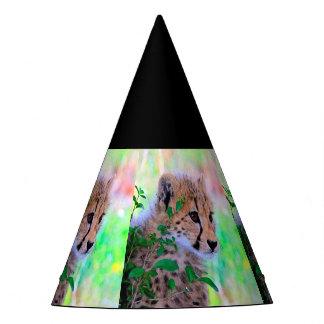 Aqua_Cheetah_20180102 Party Hat
