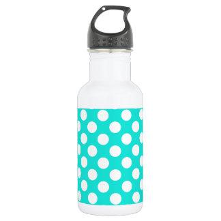 Aqua Color Polka Dots 532 Ml Water Bottle