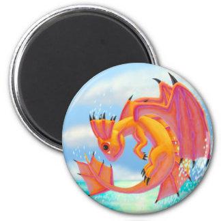 Aqua Dragon Magnet