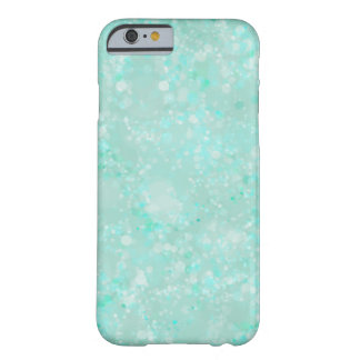 Aqua Fairy Dust Barely There iPhone 6 Case
