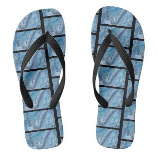 Aqua Flip Flops Summer Sandals Thongs