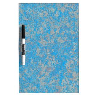 Aqua Green Background Dry-Erase Board