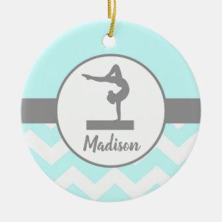 Aqua Gymnastics Ornament