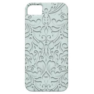 Aqua HeartyChic iPhone 5 Cover
