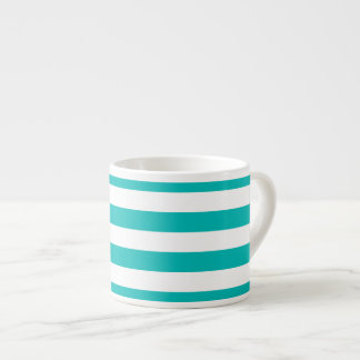 Aqua Horizontal Stripes