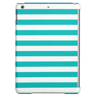 Aqua Horizontal Stripes