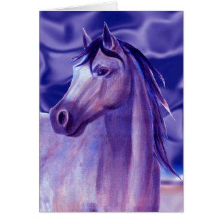 Aqua Horse Card