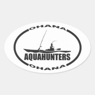 Aqua Hunters Ohana Stickers