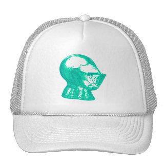 Aqua Knight Armor Medieval Helmet Knights Cap