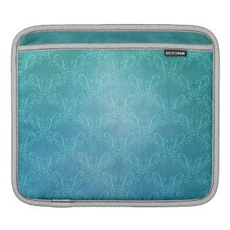 Aqua Lace iPad Sleeve