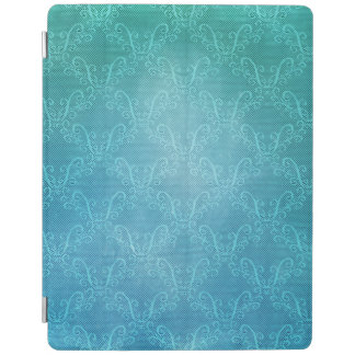 Aqua Lace iPad Smart Cover
