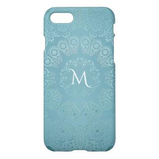 Aqua Lace Mandala iPhone 8/7 Case