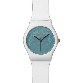 Aqua Lace Mandala Watch