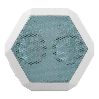 Aqua Lace Mandala White Bluetooth Speaker