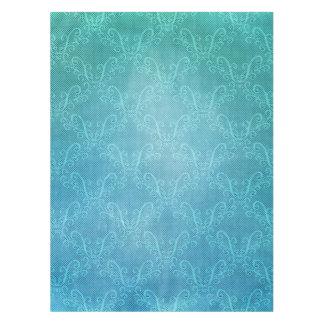 Aqua Lace Tablecloth