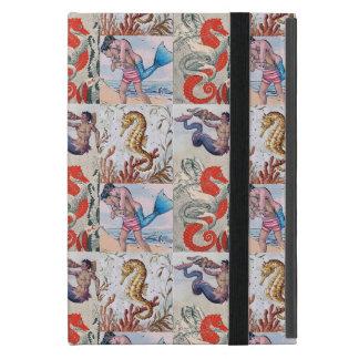Aqua Myth iPad Cover - Mermen, Seahorses, and more