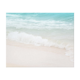 Aqua Ocean Waves in Kauai Canvas Print