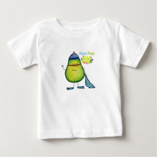 Aqua Pear, baby tee